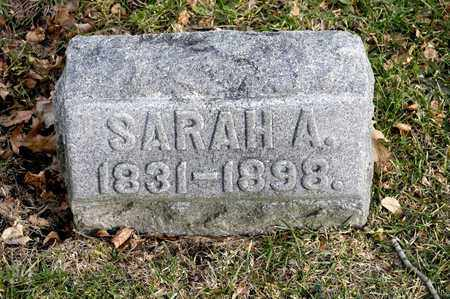 REYNOLDS, SARAH A - Richland County, Ohio | SARAH A REYNOLDS - Ohio Gravestone Photos