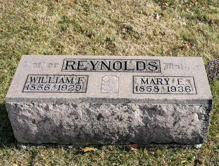 REYNOLDS, MARY E - Richland County, Ohio | MARY E REYNOLDS - Ohio Gravestone Photos