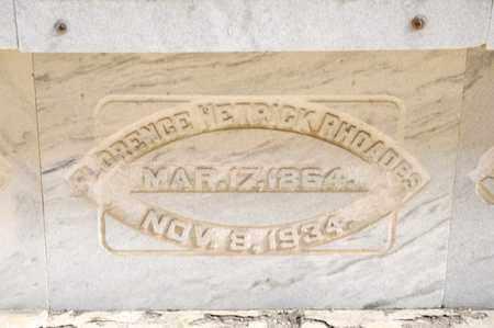 HETRICK RHOADES, FLORENCE - Richland County, Ohio | FLORENCE HETRICK RHOADES - Ohio Gravestone Photos