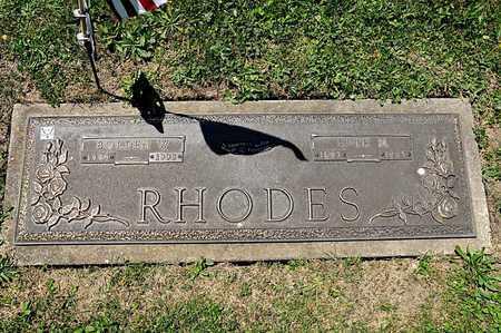 RHODES, BORDEN W - Richland County, Ohio | BORDEN W RHODES - Ohio Gravestone Photos