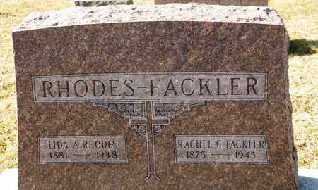 FACKLER, C RACHEL - Richland County, Ohio | C RACHEL FACKLER - Ohio Gravestone Photos