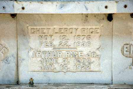 RICE, CHET LEROY - Richland County, Ohio | CHET LEROY RICE - Ohio Gravestone Photos