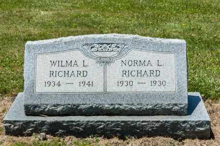 RICHARD, NORMA L - Richland County, Ohio | NORMA L RICHARD - Ohio Gravestone Photos