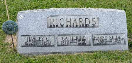 RICHARDS, HAWLEY C - Richland County, Ohio | HAWLEY C RICHARDS - Ohio Gravestone Photos
