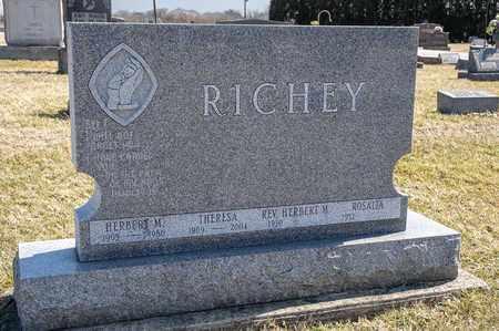 RICHEY, THERESA - Richland County, Ohio | THERESA RICHEY - Ohio Gravestone Photos