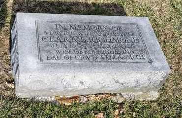 RICHMOND, CLARA B - Richland County, Ohio   CLARA B RICHMOND - Ohio Gravestone Photos