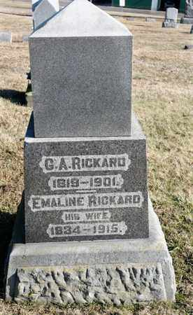 RICKARD, G A - Richland County, Ohio | G A RICKARD - Ohio Gravestone Photos