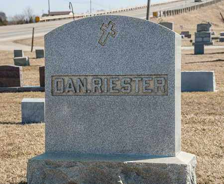 RIESTER, DANIEL - Richland County, Ohio | DANIEL RIESTER - Ohio Gravestone Photos