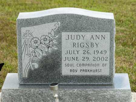 RIGSBY, JUDY ANN - Richland County, Ohio | JUDY ANN RIGSBY - Ohio Gravestone Photos