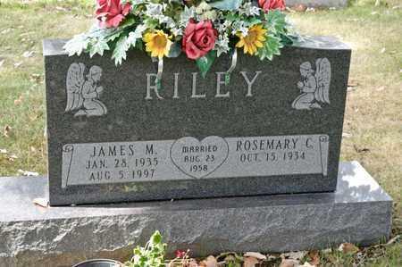 RILEY, JAMES M - Richland County, Ohio | JAMES M RILEY - Ohio Gravestone Photos