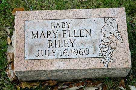 RILEY, MARY ELLEN - Richland County, Ohio | MARY ELLEN RILEY - Ohio Gravestone Photos