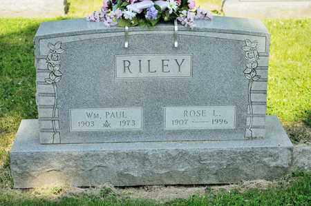 RILEY, WILLIAM PAUL - Richland County, Ohio | WILLIAM PAUL RILEY - Ohio Gravestone Photos