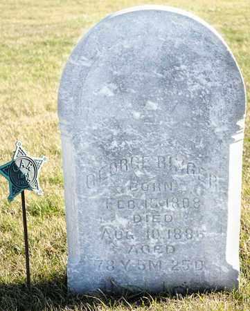 RINGER, GEORGE - Richland County, Ohio | GEORGE RINGER - Ohio Gravestone Photos