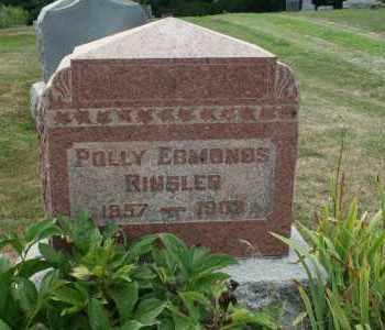 EDMONDS RINGLER, POLLY - Richland County, Ohio | POLLY EDMONDS RINGLER - Ohio Gravestone Photos