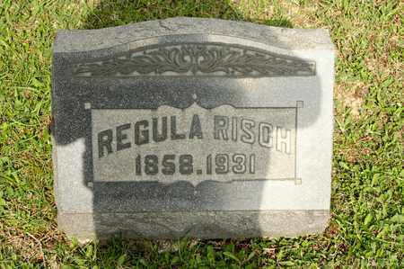 RISCH, REGULA - Richland County, Ohio | REGULA RISCH - Ohio Gravestone Photos