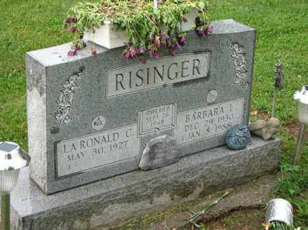 RISINGER, BARBARA L. - Richland County, Ohio | BARBARA L. RISINGER - Ohio Gravestone Photos