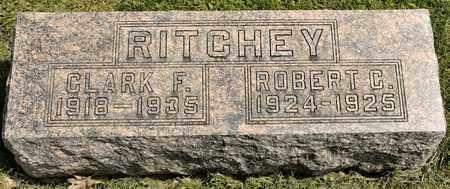 RITCHEY, CLARK F - Richland County, Ohio | CLARK F RITCHEY - Ohio Gravestone Photos