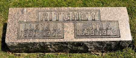 RITCHEY, LLOYD G - Richland County, Ohio | LLOYD G RITCHEY - Ohio Gravestone Photos