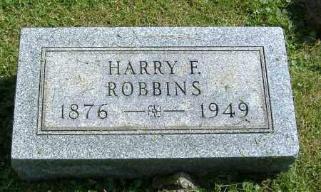 ROBBINS, HARRY F. - Richland County, Ohio | HARRY F. ROBBINS - Ohio Gravestone Photos