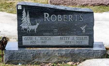 ROBERTS, BETTY J - Richland County, Ohio | BETTY J ROBERTS - Ohio Gravestone Photos