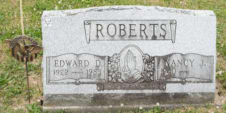 ROBERTS, NANCY J - Richland County, Ohio | NANCY J ROBERTS - Ohio Gravestone Photos