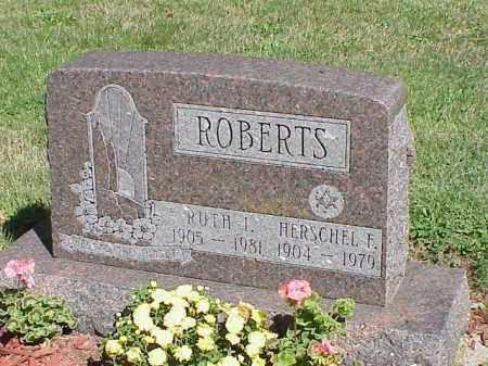 ROBERTS, RUTH I. - Richland County, Ohio | RUTH I. ROBERTS - Ohio Gravestone Photos