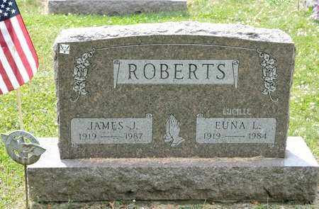 ROBERTS, EUNA L - Richland County, Ohio | EUNA L ROBERTS - Ohio Gravestone Photos