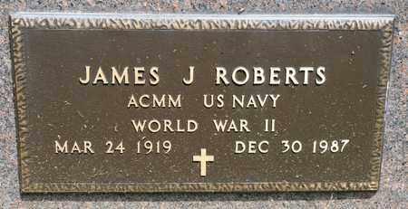 ROBERTS, JAMES J - Richland County, Ohio | JAMES J ROBERTS - Ohio Gravestone Photos
