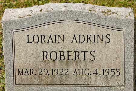 ROBERTS, LORAIN - Richland County, Ohio | LORAIN ROBERTS - Ohio Gravestone Photos