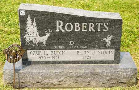 ROBERTS, OZZIE L - Richland County, Ohio | OZZIE L ROBERTS - Ohio Gravestone Photos
