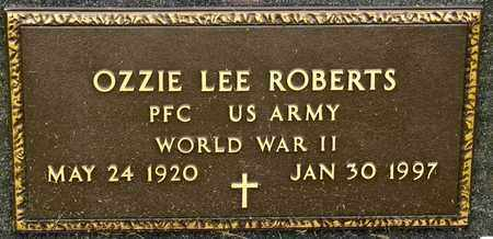 ROBERTS, OZZIE LEE - Richland County, Ohio | OZZIE LEE ROBERTS - Ohio Gravestone Photos