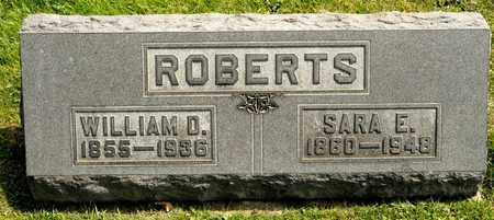 ROBERTS, SARA E - Richland County, Ohio | SARA E ROBERTS - Ohio Gravestone Photos