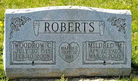 ROBERTS, WOODROW C - Richland County, Ohio | WOODROW C ROBERTS - Ohio Gravestone Photos