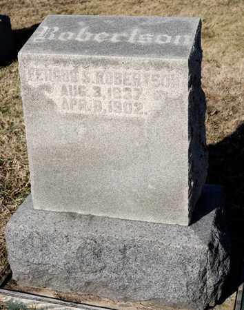 ROBERTSON, FERGUS S - Richland County, Ohio   FERGUS S ROBERTSON - Ohio Gravestone Photos