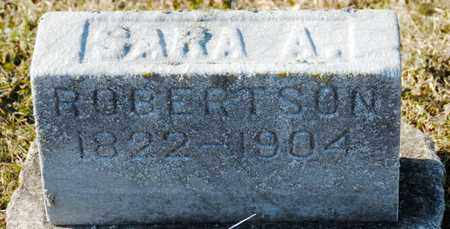ROBERTSON, SARA A - Richland County, Ohio | SARA A ROBERTSON - Ohio Gravestone Photos