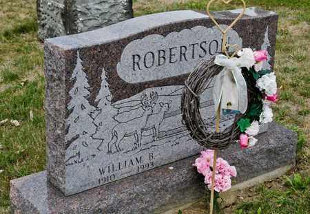 ROBERTSON, WILLIAM B - Richland County, Ohio   WILLIAM B ROBERTSON - Ohio Gravestone Photos