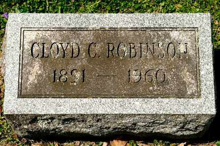 ROBINSON, CLOYD C - Richland County, Ohio | CLOYD C ROBINSON - Ohio Gravestone Photos