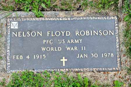 ROBINSON, NELSON FLOYD - Richland County, Ohio | NELSON FLOYD ROBINSON - Ohio Gravestone Photos