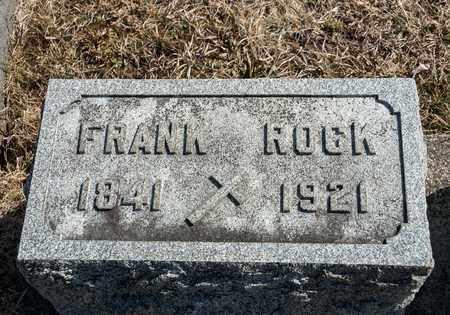 ROCK, FRANK - Richland County, Ohio | FRANK ROCK - Ohio Gravestone Photos