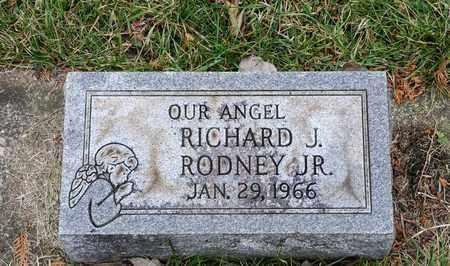 RODNEY JR, RICHARD J - Richland County, Ohio | RICHARD J RODNEY JR - Ohio Gravestone Photos