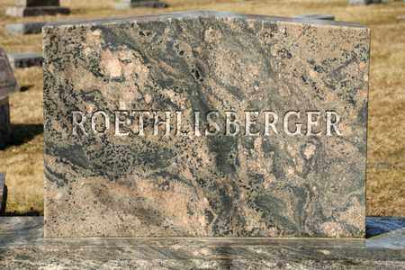 ROETHLISBERGER, MAE G - Richland County, Ohio | MAE G ROETHLISBERGER - Ohio Gravestone Photos