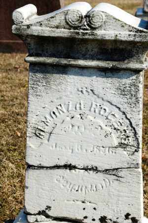 ROGERS, ALMANZA - Richland County, Ohio   ALMANZA ROGERS - Ohio Gravestone Photos