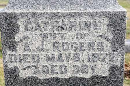 ROGERS, CATHARINE - Richland County, Ohio | CATHARINE ROGERS - Ohio Gravestone Photos
