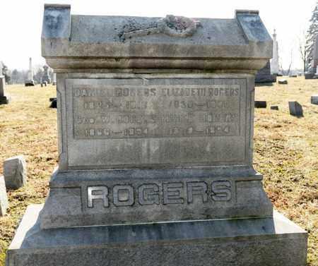 ROGERS, ELIZABETH - Richland County, Ohio | ELIZABETH ROGERS - Ohio Gravestone Photos