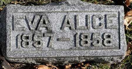 ROGERS, EVA ALICE - Richland County, Ohio | EVA ALICE ROGERS - Ohio Gravestone Photos