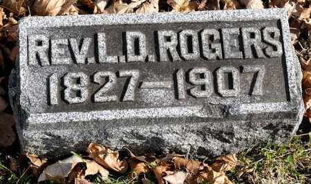 ROGERS, L D - Richland County, Ohio | L D ROGERS - Ohio Gravestone Photos