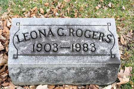 ROGERS, LEONA G - Richland County, Ohio | LEONA G ROGERS - Ohio Gravestone Photos