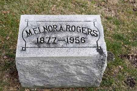 ROGERS, M ELNORA - Richland County, Ohio | M ELNORA ROGERS - Ohio Gravestone Photos