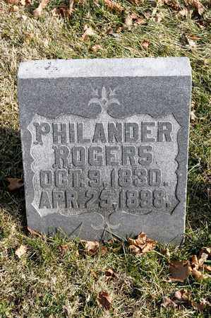 ROGERS, PHILANDER - Richland County, Ohio | PHILANDER ROGERS - Ohio Gravestone Photos