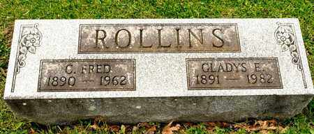 ROLLINS, C FRED - Richland County, Ohio | C FRED ROLLINS - Ohio Gravestone Photos
